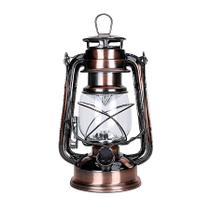 Luminária led estilo lampião antigo vintage retrô - Madeiranit