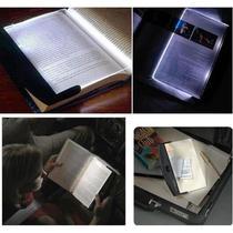 Luminaria led para leitura para livros e textos light panel luz de led noturna de mao portatil - Makeda