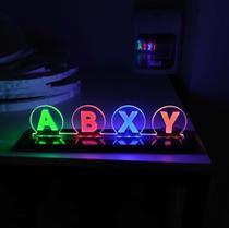 Luminária led video game xbox gamer - Gg Controles