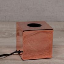 Luminária Light Cube Cobre - Etna