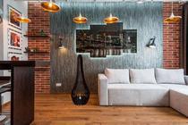 Luminaria  lustre Abajur De Chão 60cm Em MDF Decoração - Convenienza