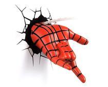 Luminária Mão do Homem Aranha Spider-man 3d Art Avengers - 3D Deco Light