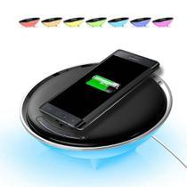 Luminária Mesa Colorful Carregador Celular Wireless Base Qi Led 57006 - Oksn