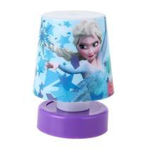 Luminaria Mini Abajur Frozen Etihome Lampada De Led -