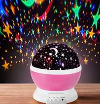 Luminária Projetor De Estrelas Galaxy Abajur -