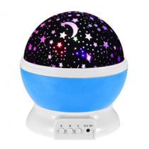 Luminária Projetor Estrela 360 Night Light Azul - Star Master
