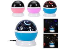 Luminária Projetor Estrela 360º Galaxy Abajur Star Master - Garota Bonita