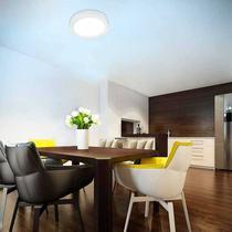 Luminária Sobrepor Redondo Slim LED 24W 3000K Autovolt Taschibra -