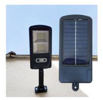 Luminaria Solar Com Sensor Inteligente Para Area Externa - +Br