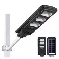 Luminária Solar Externa 60W Com Sensor de Presença + Controle Remoto - Solar Light