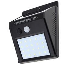 Luminária Solar Parede 20 Leds com sensor Acendimento Automático GT510 - Lorben -