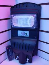 Luminária Solar Publica Led 40W c/sensor Com Placa Fotovoltaica Integrada Completa - Tltled