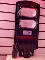 Luminária Solar Publica Led 60W c/sensor Com Placa Fotovoltaica Integrada Completa - Tltled