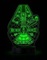 Luminária-Star Wars: Millenium and Death Star - Thinkgeek