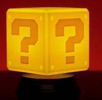 Luminaria super mario bros - question block 3d light - Paladone