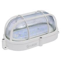 Luminária Tartaruga LED Liege 35 Leds 7W Bivolt Branca -