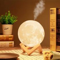 Luminária  Umidificador Lua Cheia Led - Inova