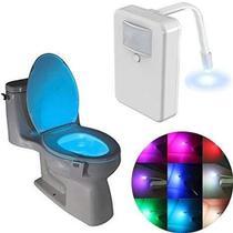 Luminária Vaso Sanitário Light Com Sensor E LED 8 Cores - Outros