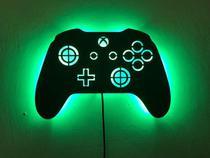 Luminoso De Parede Controle Vídeo Game LED MDF - J & R Personalização Em Mdf