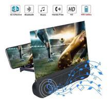 Lupa Ampliadora De Tela 12 Polegadas Para Filmes Audio Video - PLUGX