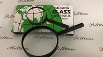 Lupa Lente De Aumento Mão Manual 75 Mm Glass -