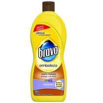 Lustra-Móveis Bravo Brilho Prático Lavanda 500ml -