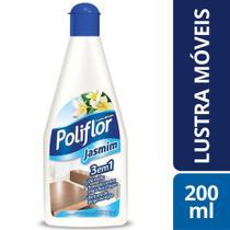 Lustra Moveis Jasmim Poliflor Squeeze Frasco Liquido 200Ml -