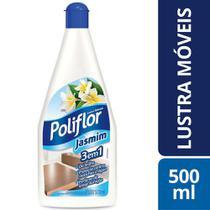 Lustra Moveis Jasmim Poliflor Squeeze Frasco Liquido 500Ml -