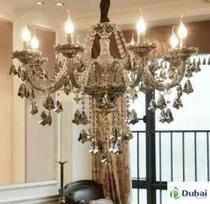 Lustre Cristal Legítimo K9 - 8 Bracos - Dubai