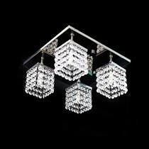 Lustre Cristal Legitimo Plafon Quadrado Santarém - Hunter trade