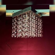 Lustre de cristal k9 legítimo - Preço de fábrica - Quadrado 1213 - Dri Luzarte -