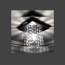 Lustre de cristal k9 legítimo - Preço de fábrica - Quadrado 1515 - Dri Luzarte -