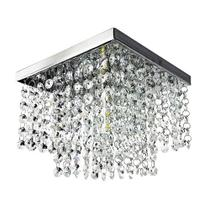 Lustre de cristal k9 legítimo - Quadrado 2016 - Preço de fábrica - Dri LuzArte -