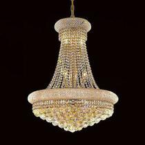 Lustre de Cristal Legítimo K9 Gold - (702/450 GD) - Dubai