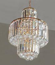 Lustre de Cristal Legítimo K9 Transparente - Dubai