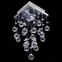 Lustre de cristal original mie slim quadrado 17x17x30cm - jp mieslim 17 - Hunter