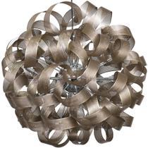 Lustre em Metal 80 cm Cobre - Mart