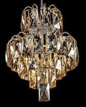 Lustre Pendente De Cristal Legítimo K9 (89638-1) - Dubai