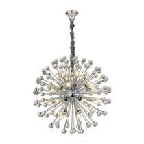 Lustre wish com bolas de vidro 21 lampadas - Hevvy
