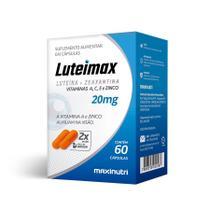 Luteimax (Luteína + Zeaxantina) 20mg - 60 Caps - Maxinutri -