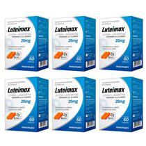 Luteimax Luteína & Zeaxantina - 6x 60 cápsulas - Maxinutri -
