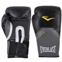 Luva Boxe Muay Thai 12 Oz Everlast Pro Style Preta -