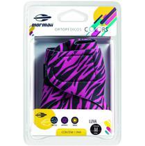 Luva Colors Mormaii Musculação Ciclismo Zebra Pink - G -