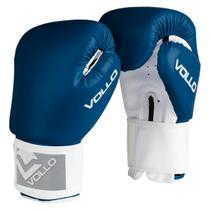Luva de Boxe COMBAT 12 OZ Azul Vollo VFG304-12 -
