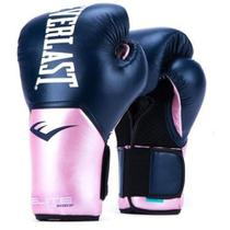 Luva de Boxe Everlast Elite ProStyle Azul e Rosa -
