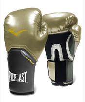 Luva de Boxe Everlast Pro Style Elite Dourado -