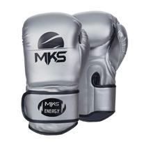 Luva de Boxe MKS Energy V2 Silver - Mks Combat