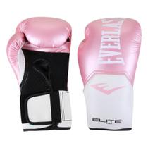 Luva De Boxe/ Muay Thai Everlast Pro Style Elite V2 12 Oz -