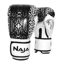 Luva de Boxe / Muay Thai Feminina Naja Animal Print Cobra 10 Oz -