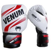 Luva de Boxe Venum Commando Ice Red -